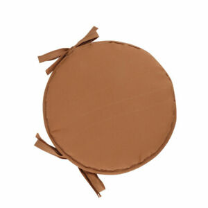 For Bistro Stool Circular Chair Cushion Round Sponge Comfortable Seat Cover New