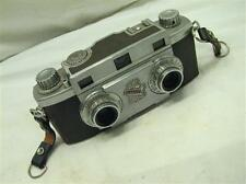 Vintage Revere 35mm Stereo 33 Stereoview f3.5 3-D Camera w/Wollensak Lens