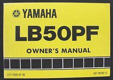 1978 YAMAHA 50 LB50PF MOTORCYCLE MINI BIKE OPERATOR OWNERS MANUAL VERY GOOD