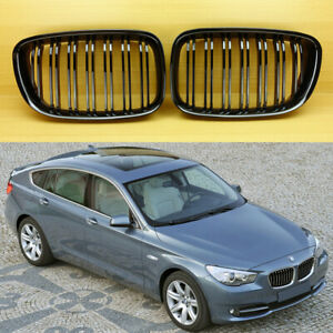M TYPE GLOSS BLACK FRONT GRILL KIDNEY FOR BMW F07 5-SERIES GT GRAN TURISM