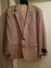 New w/ Tags Vintage Cricketeer Men's 41R Wool & Silk Blend UNION made Blazer