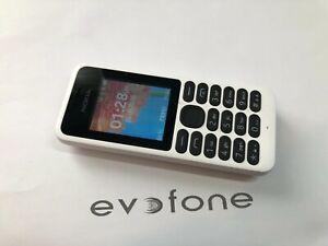 Nokia 130 Mobile Phone, Tesco Network, Small Easy Use Mobile - White