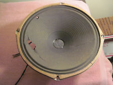"Vintage Magnavox Old Radio Speaker 12"" Permanent Magnet Cone Needs Repair 232507"