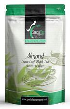 Almond Gourmet Loose Black Tea 1 oz. Includes 10 Free Tea Bags
