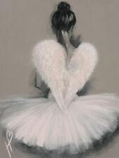 Hazel Bowman - Angel Wings - Ready Framed Canvas 30x40cm