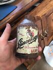 LEINENKUGELS BEER CAN CROWNTAINER CONE TOP CHIPPEWA FALLS WI WIS INDIAN