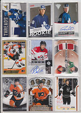 72 Card Philadelphia Flyers Brayden Luke Schenn Ultimate Titanium Draft Day Auto