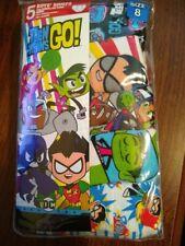 Nip Boy's Size 4 Teen Titans Go Briefs 5 Pack New