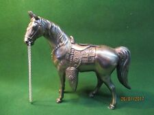 Statuette : Cheval en régule