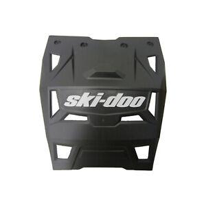 Ski-Doo New OEM Rear Snow/Mud Guard Flap - Summit Black w/ White 520001300