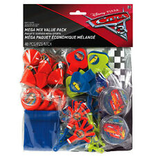 CARS 3 FAVOR PACK (48pc) ~ Birthday Party Supplies Toys Lightning McQueen Disney