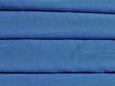 ENGLISH FINE COTTON  SHIRTING-SLUB WEAVE-BLUE - DRESS FABRIC -FREE P+P(UK ONLY)
