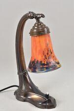 i94c10- Art Déco Tischlampe Muller Fres Luneville