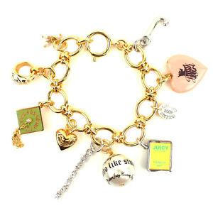 100% Authentic Juicy Couture 2009 Limited Edition Graduation Charm Bracelet