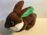 "Kellytoy Brown And White Bunny 14"" Plush Stuffed Animal"