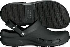 New CROCS Mens Bistro Clog Enclosed toe and heel Shoes Size 12 Crocs Lock™ Black