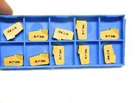 Valenite Carbide Cutoff Inserts VSG60L560GG Grade-5735 Box of 10 02258754
