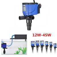 3 in 1 Aquarium Fish Tank Powerhead Wave Maker Purifier Filter Oxygen Water Pump