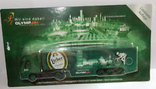 GRELL HO 1/87 CAMION TRUCK TRAILER IVECO STRALIS LICHER BEER CYCLISME JO 2012