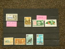 St Christopher Nevis Anguilla Lot of 8 Stamps #5512