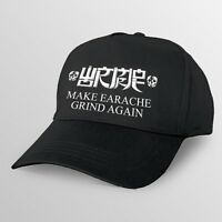 "Wormrot ""Make Earache Grind Again"" Embroidered Snapback Cap - voices abuse dirge"