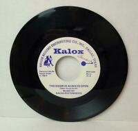 The Door is Always Open Kalox Records Harper Smith Caller Square Dance Calls 45