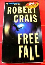 Robert Crais Free Fall Elvis Cole/Joe Pike 4-Tape Audio Book James Daniels Crime
