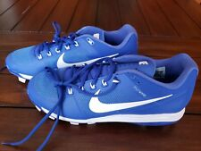 NWOB Nike Air Clipper 17 Baseball Cleats Size 11.5 Blue 895768 415
