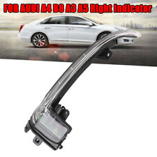 For AUDI A4 B8 A5 A3 LED Rearview Mirror Turn Signal Indicator- Right Driver