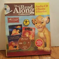 Disney's READ ALONG COLLECTION - The Lion King -3 Books + CD -  Family Classic