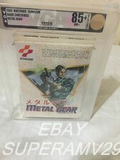 Metal Gear (FAMICOM,1987)VGA GRADED 85+ ARCHIVAL CASE