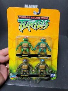 Playmates TMNT 4 Pack Teenage Mutant Ninja Turtles Miniatures 2002 Mirage Studio