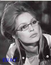 Brigitte Bardot sexy in glasses VINTAGE Photo