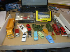 DIECAST JOB LOT. MATCHBOX HUSKY DEL PRADO CORGI DINKY TOYS VARIOUS CONDITIONS