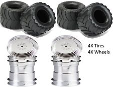 "Pro-Line Destroyer 2.6"" All Terrain Monster Tires w/ Clod Buster Wheels F/R (4)"
