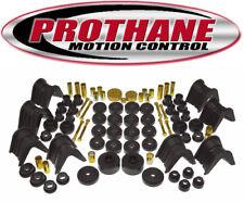 Prothane 6-2016-BL 66-76 2WD Bronco 66-77 4WD Total Bushing Kit W/O Trans Mount