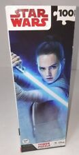 Disney Star Wars 100 piece Tower Puzzle -The Last Jedi Rey = New in Box