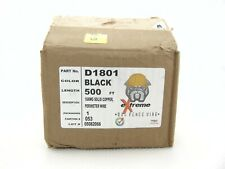 Extreme Dog Fence Wire D1801 Black 500 FT 18AWG Solid Copper Perimeter Wire