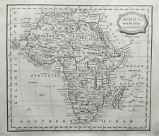 1806 Antique Map; Africa from the latest authorities - J. Barlow