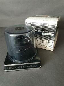 BOXED HOYA 50mm 1:2.8 Enlarger Enlarging camera Lens - superb condition