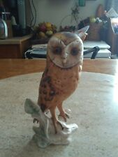 Goebel West germany Goebel Vintage Barn Owl Figurine (1975) hand painted