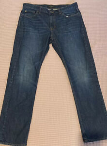 Banana Republic Mens Slim Straight Denim Blue Jeans Size 34