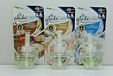3 x 20ML GLADE ELECTRIC  PLUG IN REFILLS MIX MANY  TYPES