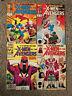 X-MEN VS THE AVENGERS COMIC SET # 1-4 MARVEL COMICS 1987