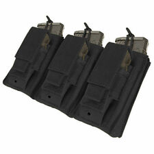 Condor MA55 Triple Kangaroo 5.56 or .223 Rifle & Pistol Mag Pouch Black