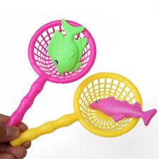 2pc 16.5cm Plastic Kids Fishing Nets Fishing Accessories Kids Outdoor Gift ToyJB