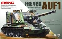 Meng Model 1/35 TS-004 French 155mm Self-Propelled Howitzer AUF-1