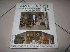 Arte e artisti nella modernità Jaca Book Libro Storia Arte Moderna Europa Mondo