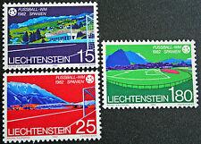LIECHTENSTEIN - timbre/stamp Yvert et Tellier n°740 à 742 n** (cyn5)