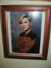 """Denise Crosby Autographed Photo-Genuine-Framed & Matted-8"""" X 10"""""""